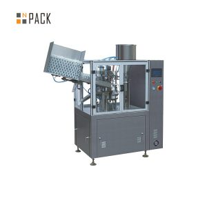 Машина за полнење цевки со висок капацитет за козметички пластичен крем