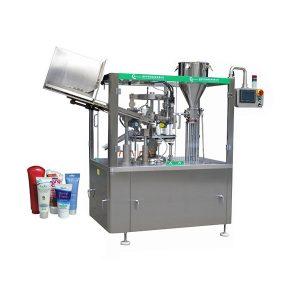 Автоматска машина за полнење и запечатување на цевки со мазна мека за кожа