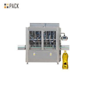 Машина за полнење и обележување на маслото за готвење со мало шише