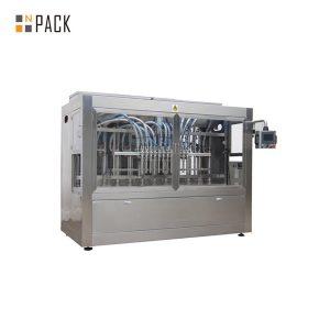 Шест глава автоматска машина за директно полнење со течност