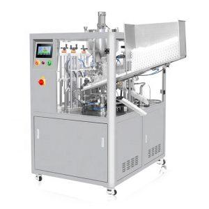Машина за полнење на козметички цевки со ултразвучно запечатување