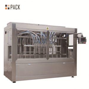 Автоматска машина за полнење течност / паста / сос / мед за полнење на 8 млазници за полнење