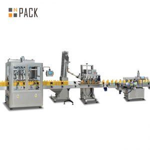 машина за полнење на клипот за џем, автоматска машина за полнење со топла сос, линија за производство на сос од чили
