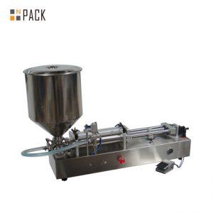 Многу популарна машина за полнење сладолед / машина за полнење со двојни глави / машина за полнење лак за нокти