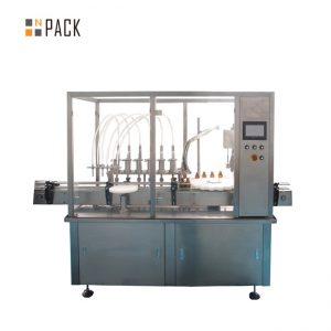 машина за полнење и капацирање шише со хијалуронска киселина
