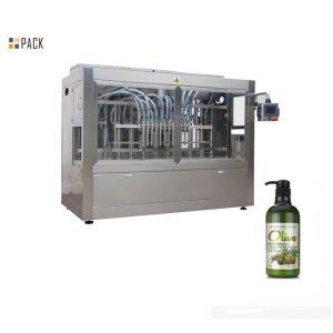 Комплетна автоматска машина за полнење шампон за капење со шишиња во шишиња
