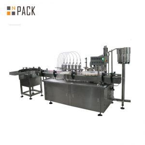 Автоматска машина за дигитални пополнувања со повеќе глави за течности и крем